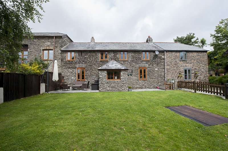 4 Bedrooms Barn Conversion Character Property for sale in Notter, Saltash, Cornwall, PL12