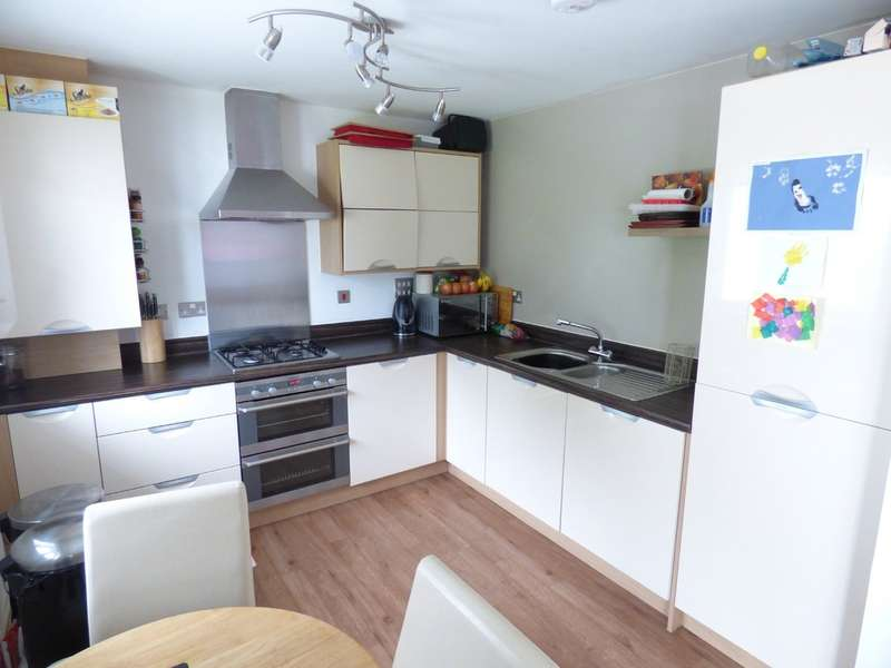 2 Bedrooms Flat for sale in Berkshire Close, Ogwell