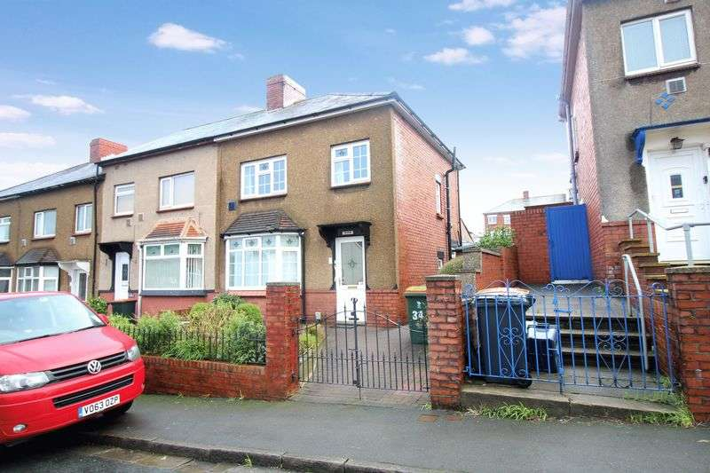 3 Bedrooms Semi Detached House for sale in Denbigh Road, Newport