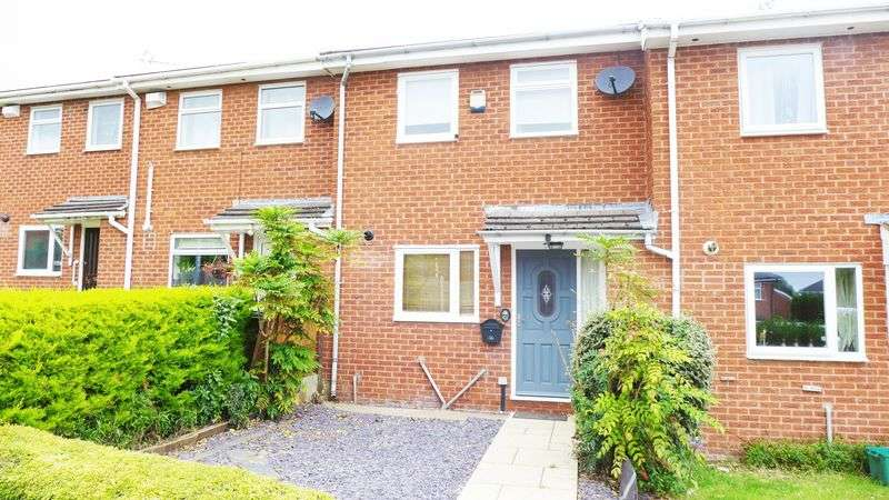 2 Bedrooms Terraced House for sale in Heatherdale Close, Wrexham