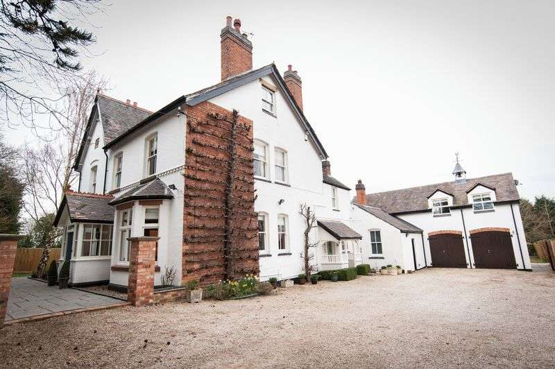 5 Bedrooms Detached House for sale in The Lodge, Stoke Golding