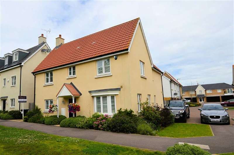 4 Bedrooms Property for sale in Blenheim Square, North Weald