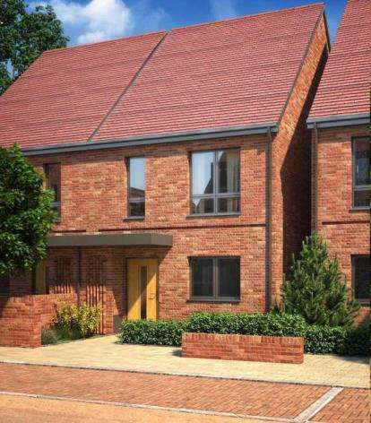 3 Bedrooms Terraced House for sale in The Charlotte (T3) At Barnes Villag, Cheadle
