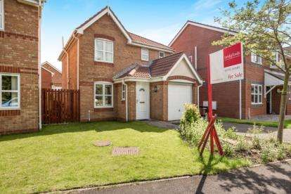 3 Bedrooms Detached House for sale in Woodcock Close, Bamber Bridge, Preston, Lancashire