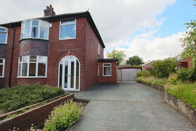 3 Bedrooms Semi Detached House for sale in Birch Road, Hurstead, Rochdale OL12 9QQ