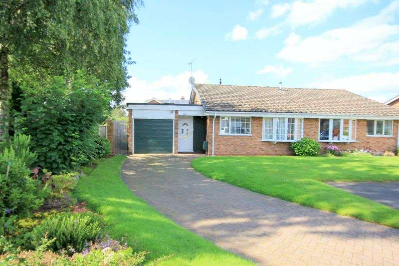 2 Bedrooms Semi Detached Bungalow for sale in Runnymede, Stone