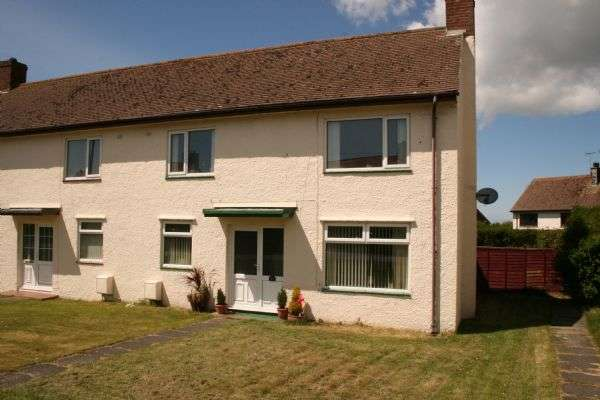 2 Bedrooms Semi Detached House for sale in CAERGEILIOG