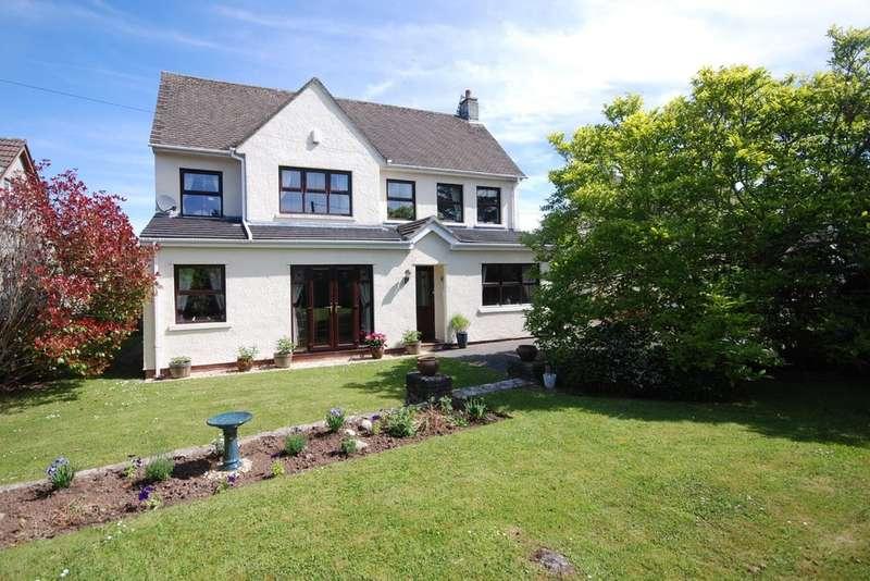 4 Bedrooms Detached House for sale in Love Lane, Llanblethian, Cowbridge, Vale of Glamorgan, CF71 7JQ