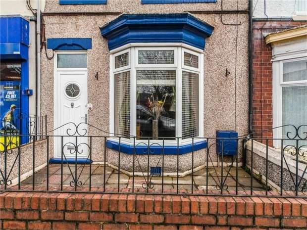 3 Bedrooms Terraced House for sale in Durham Road, Chilton, Ferryhill, Durham