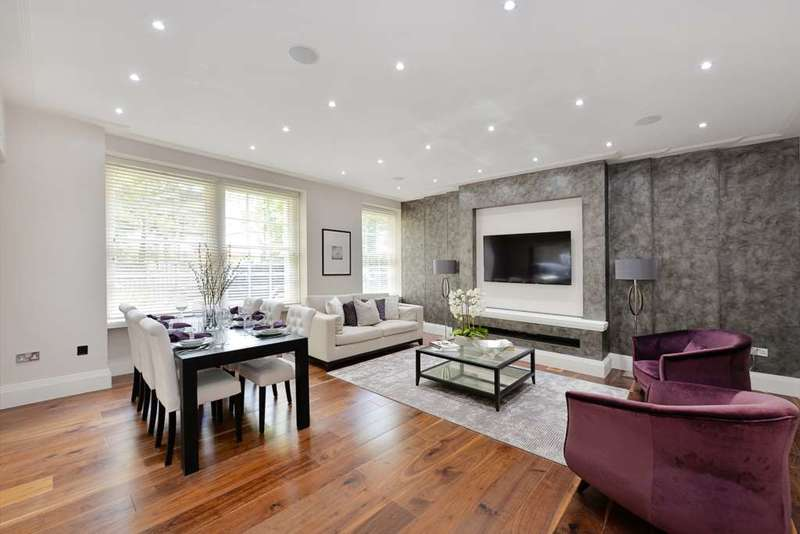 4 Bedrooms Apartment Flat for sale in Abbey Lodge, St John`s Wood NW8