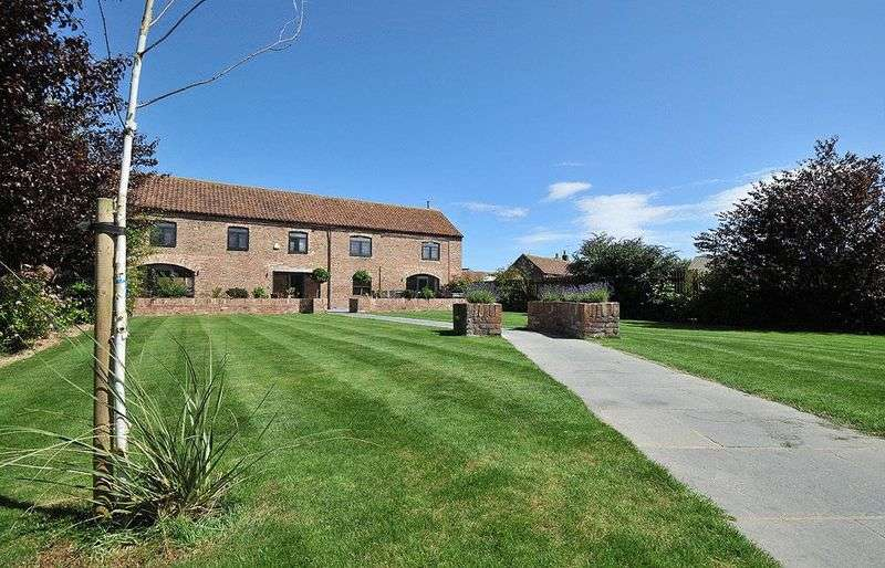 5 Bedrooms Semi Detached House for sale in Chestnut Barn, Wold Newton