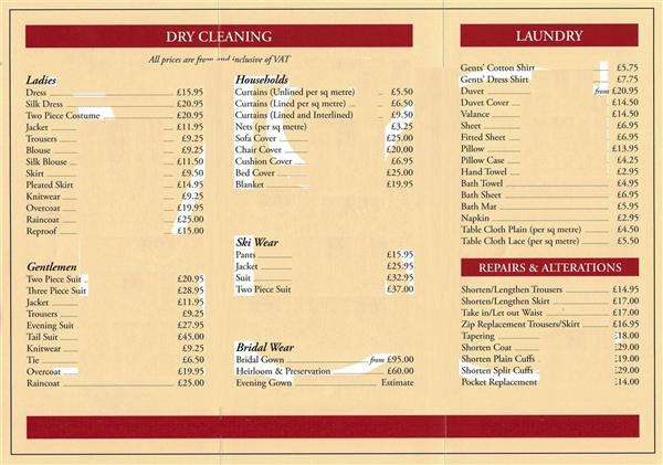 Commercial Property for sale in DRY CLEANERS LONDON
