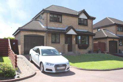 4 Bedrooms Detached House for sale in Zetland Drive, Grangemouth