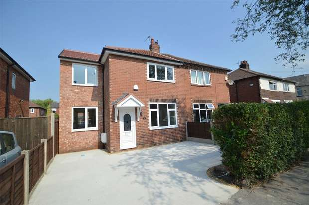 3 Bedrooms Semi Detached House for sale in Park Street, Bredbury, Stockport, Cheshire
