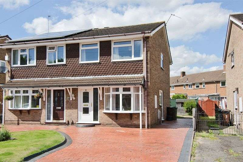 3 Bedrooms Semi Detached House for sale in Thetford Gardens, Wednesfield, Wolverhampton