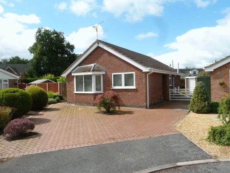 2 Bedrooms Detached Bungalow for sale in Waverton Close, Crewe