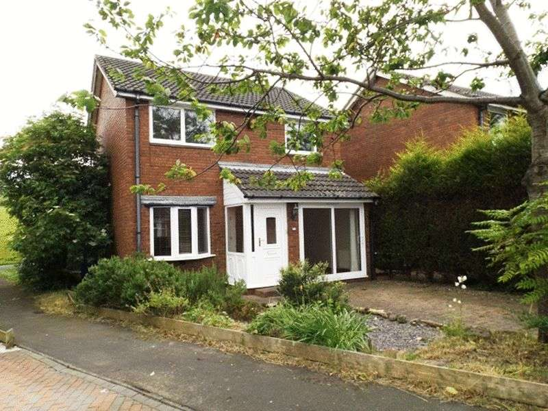 3 Bedrooms House for sale in Callaly Close, Pegswood - Three Bed Detached House