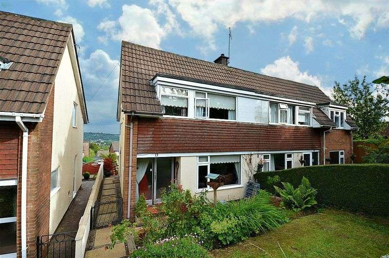 3 Bedrooms Semi Detached House for sale in Poplar Court, Newport