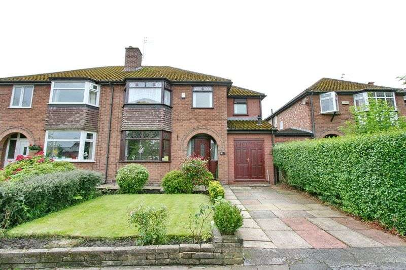 4 Bedrooms Semi Detached House for sale in Heathfield Worsley Manchester