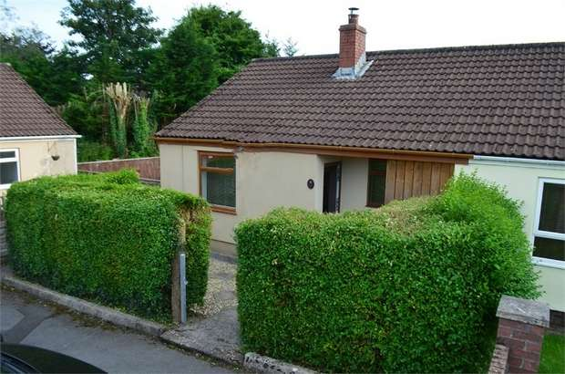 2 Bedrooms Semi Detached Bungalow for sale in Llwyn-Onn, Penderyn, Aberdare, Mid Glamorgan