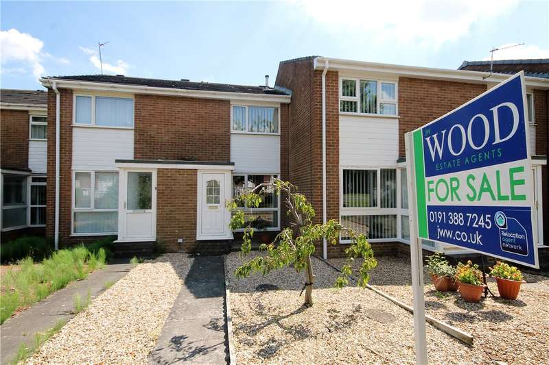 2 Bedrooms Terraced House for sale in Norton Close, Waldridge Park, Chester le Street, DH2