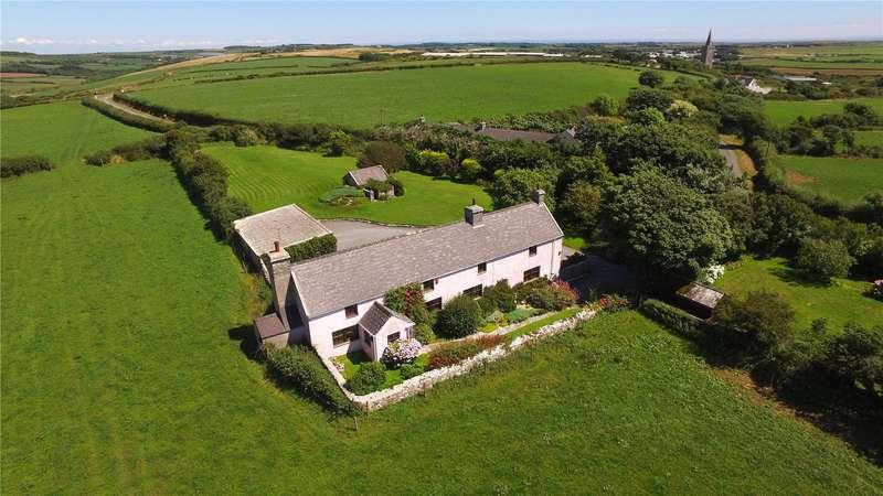 3 Bedrooms Detached House for sale in Cold Comfort, Warren, Castlemartin, Pembroke