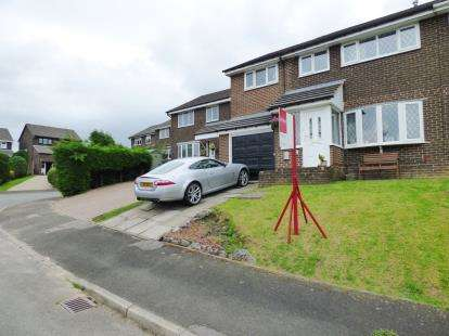 4 Bedrooms Semi Detached House for sale in Clifton Drive, Buxton, Derbyshire