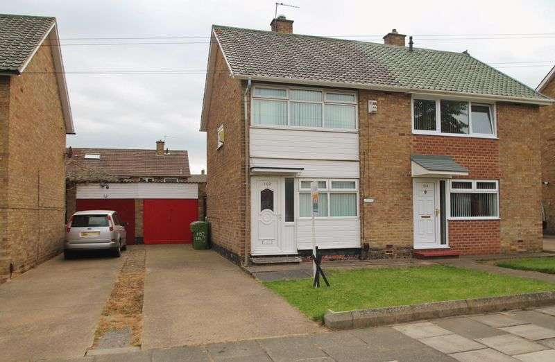 2 Bedrooms Semi Detached House for sale in Lansdowne Road, Longlands
