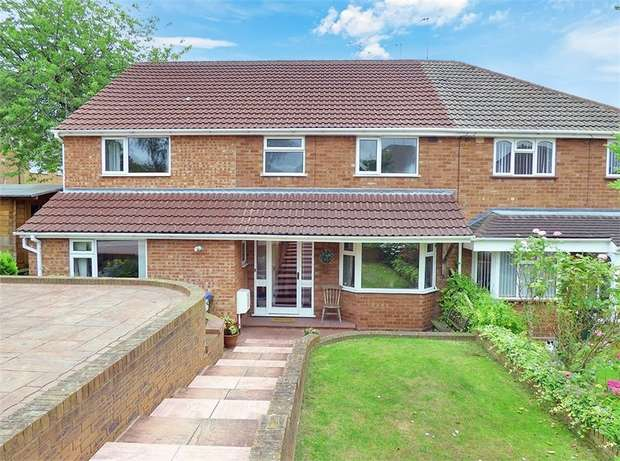 4 Bedrooms Semi Detached House for sale in Anderson Crescent, Birmingham, West Midlands