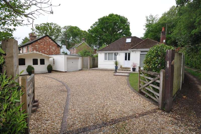3 Bedrooms Detached Bungalow for sale in Hurn Road, Ringwood, BH24 2AF