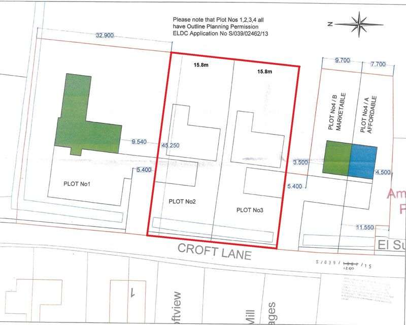 Land Commercial for sale in Croft Lane, Wainfleet All Saints