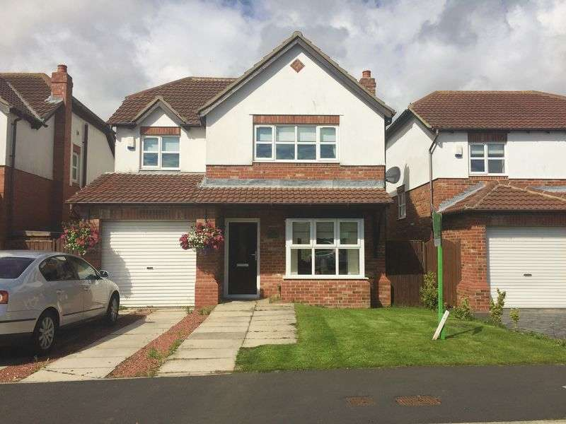4 Bedrooms Detached House for sale in The Coppice, Peterlee