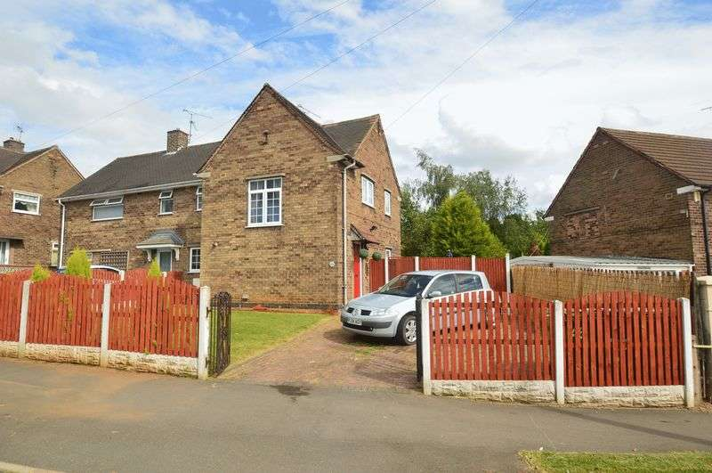 3 Bedrooms Semi Detached House for sale in Elm Tree Avenue, Shirebrook