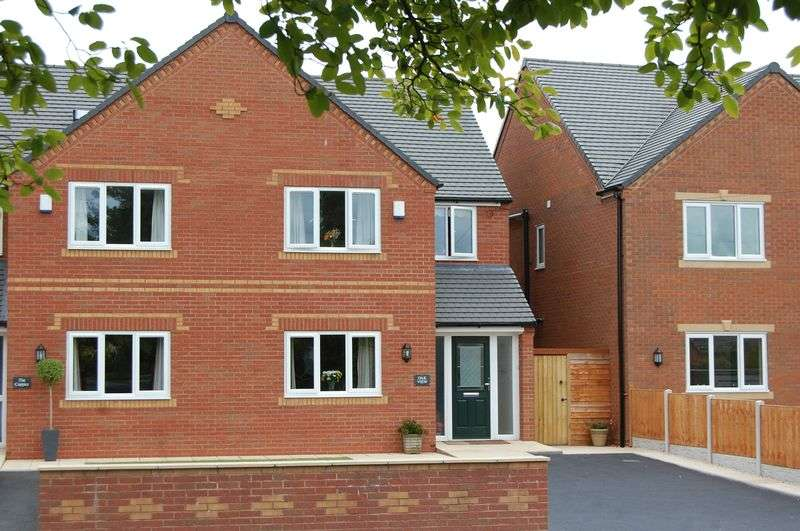 4 Bedrooms Semi Detached House for sale in Cross Road Albrighton