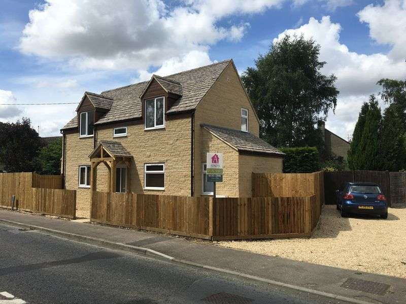 3 Bedrooms Detached House for sale in Field View - The Street - Crudwell - Malmesbury - SN16