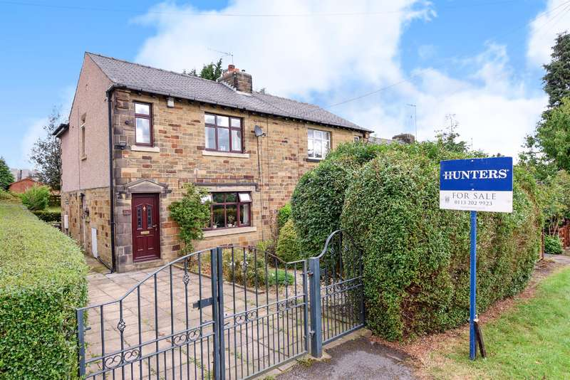 3 Bedrooms Semi Detached House for sale in Apperley Road, Apperley Bridge, BD10 0AX