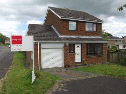3 Bedrooms Detached House for sale in Ancroft Garth, High Shincliffe, Durham, DH1