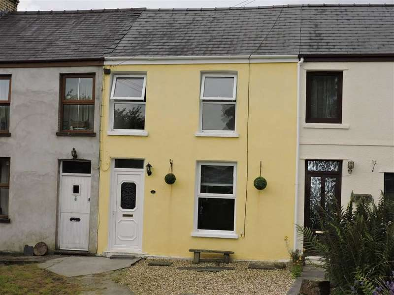 2 Bedrooms Property for sale in Cilrhedyn Cottages, Capel Seion Road, Pontyberem