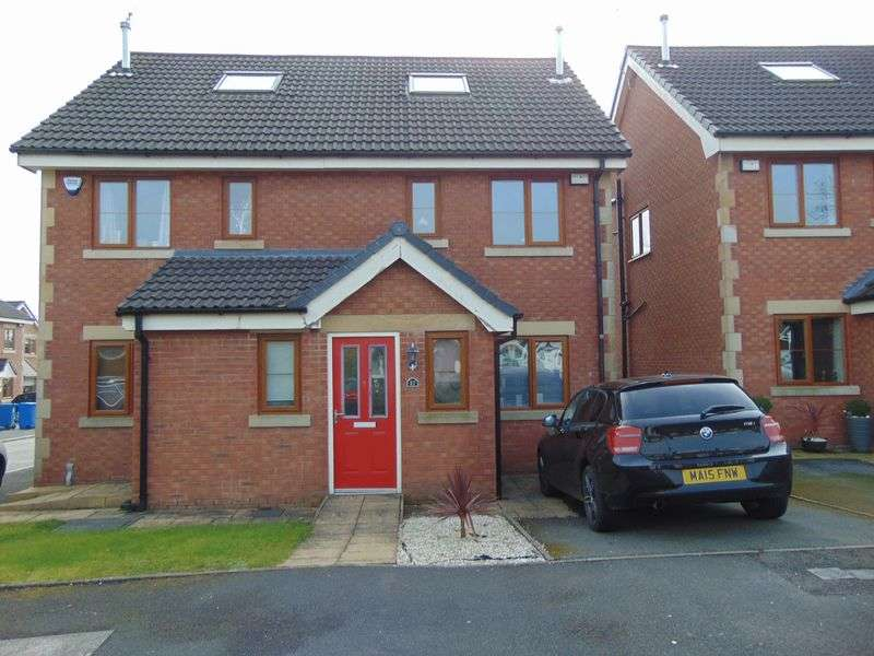 3 Bedrooms Semi Detached House for sale in Eagley Drive, Seddons Farm, Bury BL8 2NF