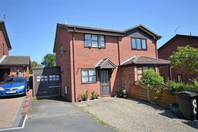 2 Bedrooms Semi Detached House for sale in Long Meadow, Tenbury Wells