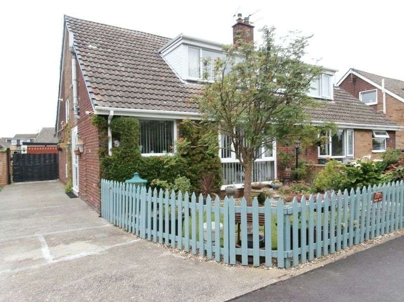 3 Bedrooms Semi Detached Bungalow for sale in Egroms Lane, Withernsea