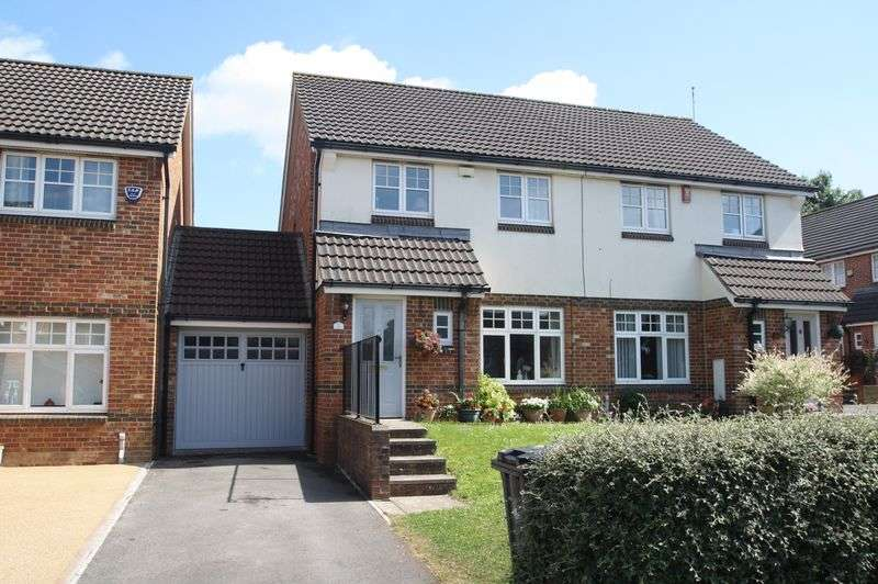 3 Bedrooms Semi Detached House for sale in Shaw Gardens, Hengrove, Bristol, BS14