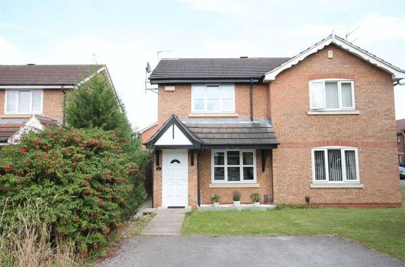 2 Bedrooms Semi Detached House for sale in Roseheath Close, Derby
