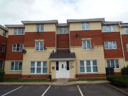 2 Bedrooms Flat for sale in Princes Gate, West Bromwich, West Midlands