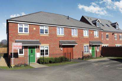 1 Bedroom End Of Terrace House for sale in Apollo Avenue, Cardea, Peterborough, Cambridgeshire