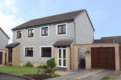 4 Bedrooms Semi Detached House for sale in Ballantrae Drive, Newton Mearns
