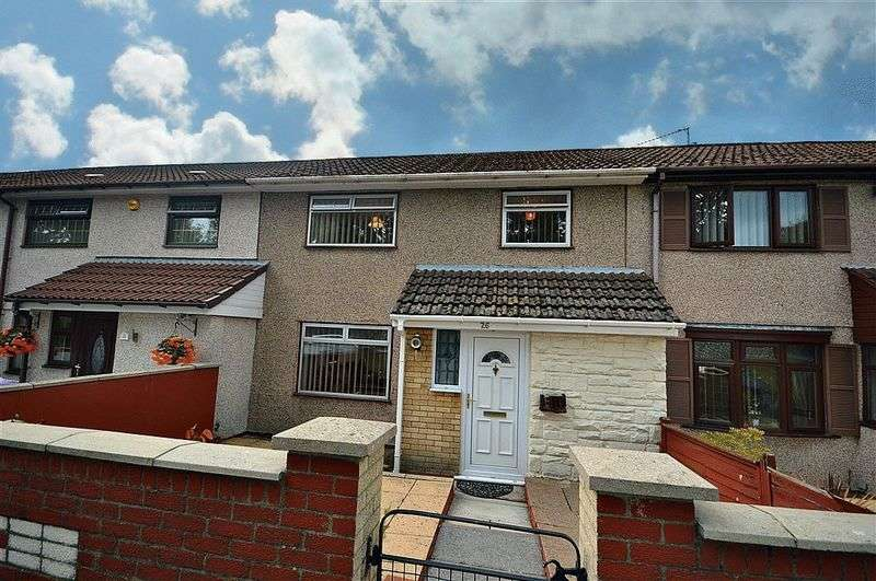 3 Bedrooms Terraced House for sale in Croeswen, Cwmbran