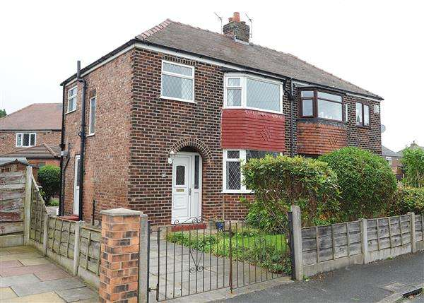 3 Bedrooms Semi Detached House for sale in 6 Hartley Grove, Irlam M44 6HL