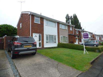 3 Bedrooms Semi Detached House for sale in Llwyn Eglwys, Hope, Wrexham, Flintshire, LL12