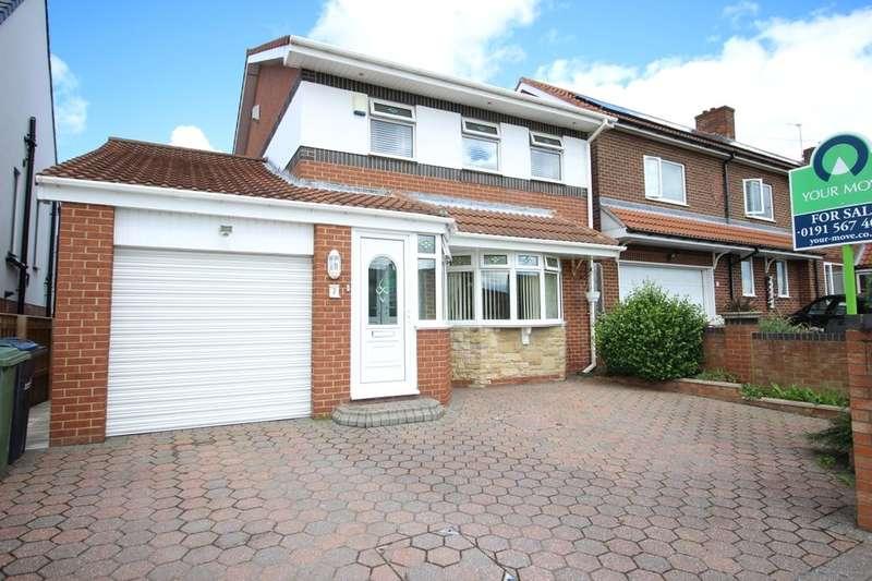 4 Bedrooms Detached House for sale in Tunstall Village Green, Tunstall, Sunderland, SR3